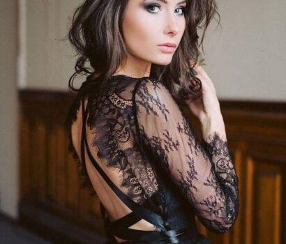 váy cưới đen gothic